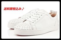 送料関税込 ルブタン☆ Louis Junior Spikes Men's Flat