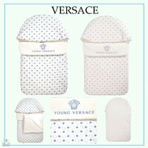 YOUNG VERSACE☆BABY コットンネスト blue/purple