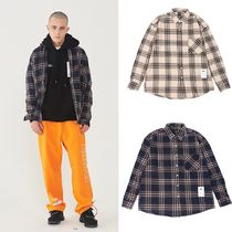 【Ellioti】Hound tooth Check shirt (2color) - UNISEX