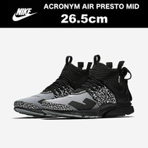ACRONYM x NIKE AIR PRESTO MID Cool Grey【国内正規 26.5cm】