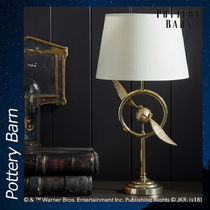 Pottery Barn HARRY POTTER GOLDEN SNITCH Table Lamp ランプ