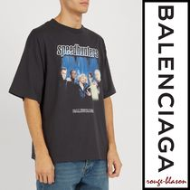 【国内発送】Balenciaga Tシャツ Speedhunter logo T-shirt