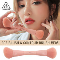 最高級人工毛使用!★3CE BLUSH & CONTOUR BRUSH #F05《追跡送》