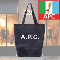 【18AW】★A.P.C.★Axel Japanese-denim tote bag