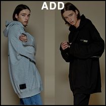 ☆add☆AFTERIMAGE OVERSIZED TAPING HOODIE 2色★18FW★人気★