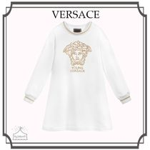 大人もOK! YOUNG VERSACE☆Cotton MEDUSA ワンピース
