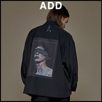 add(エーディーディー) シャツ ☆add☆BACK PAINTING CROP SHIRTS★18FW★人気★