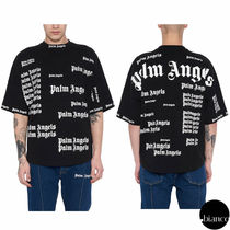関税込PALM ANGELS ULTRA LOGO OVER T-shirt ロゴモノグラム