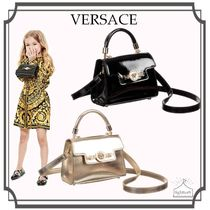 YOUNG VERSACE☆レザーハンドバッグ / 2Colour