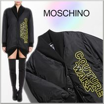 18-19AW★Moschino ロング ボンバー ジャケット COUTURE WARS