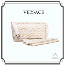 YOUNG VERSACE☆Gold Print マザーズバッグ (36cm)