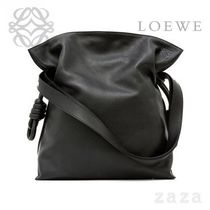LOEWE★ロエベ Flamenco Knot Bag Black