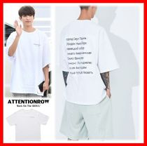 人気★【ATTENTIONROW】★Overfit Vintage Trip半袖Tシャツ★