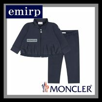 MONCLER★BabyGirlsロゴ入りフリルセットアップ☆3M-3A