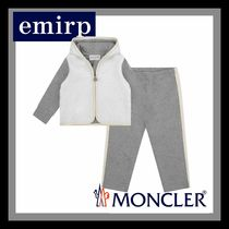 MONCLER★Babyシャーリング&コットンロゴセットアップ☆9M-3A