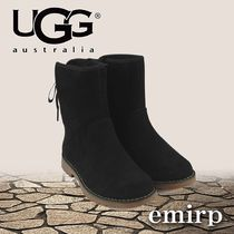 ★UGG★大人もOK★GIRLS★BLACK SUEDE CORENE ブーツ[20~24cm]
