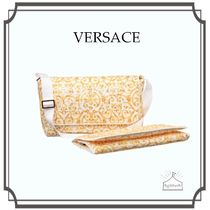 YOUNG VERSACE☆Gold baroqueマザーズバッグ(36cm)