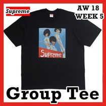 Supreme Group Tee  WEEK 5 AW 18