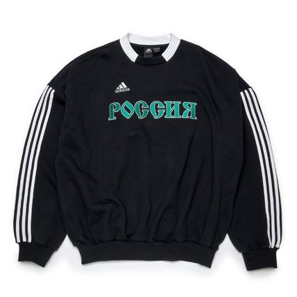 Gosha Rubchinskiy x adidas Men's Sweat Top (Black/Lサイズ)