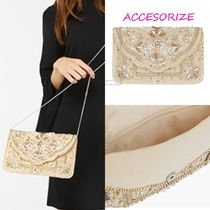 Accessorize(アクセサライズ) クラッチバッグ 送料関税込み Accesorize〓PARMA ビーズクラッチバッグ♪