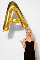 Urban Outfitters Gold Letter Party Balloon バルーン