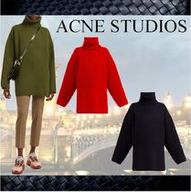 **ACNE STUDIOS **アクネ★Ribbed-knit roll-neck woolセーター