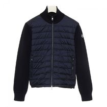MONCLER 18/19FW Knitted Sleeve Jacket