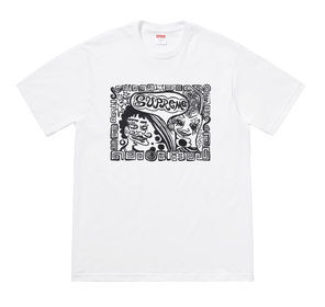 Week5!SUPREME18FW★Tabboo! for Supreme Faces Tee