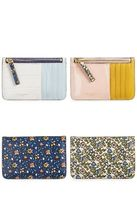 Tory Burch☆Colorblock Leather Card Case