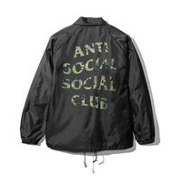 【在庫処分SALE】ANTI SOCIAL SOCIAL CLUB COACH JACKET/CAMO