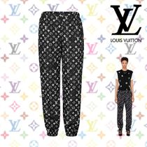 18AW☆新作《Louis Vuitton》PANTALON DE JOGGING MONOGRAM