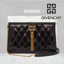 【18AW】★GIVENCHY★Gem quilted leather bag