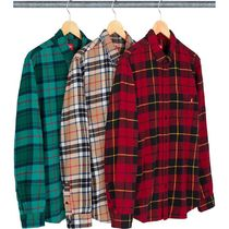 5 WEEK Supreme FW 18 Tartan L/S Flannel Shirt