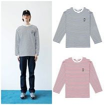 STEREOVINYLSの[FW18] Stripe Roundneck Long Sleeve 全2色