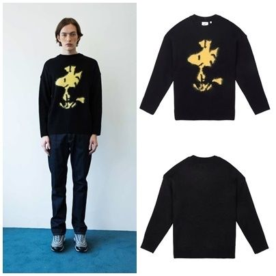STEREOVINYLSの[FW18 Peanuts] Woodstock Pullover Knit