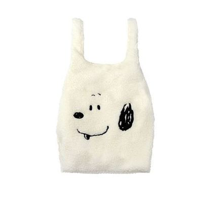 STEREO VINYLS COLLECTION バッグ・カバンその他 日本未入荷STEREOVINYLSの[FW18 Peanuts] Boa Bag 全2色(11)