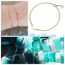 【Tiffany & Co】Tiffany T Smile Micro Bracelet 18k gold