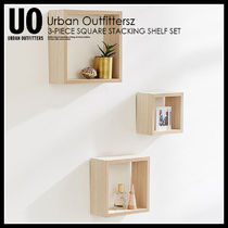 URBAN OUTFITTERS 3-PIECE SQUARE STACKING SHELF★43214618-022