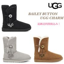 関税負担なし!☆UGG☆ BAILEY BUTTON UGG CHARM