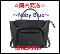 【国内発送料関税込】 CELINE☆ Micro Belt Bag☆Navy Blue