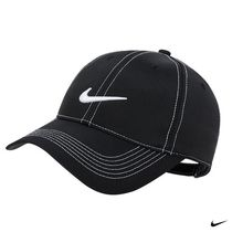 人気!Nike(ナイキ) Golf Swoosh Front Cap(Black)