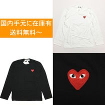 COMME des GARCONS RED PLAY ロングスリーブ Tシャツ