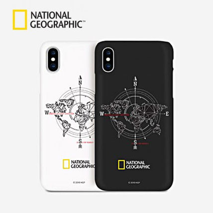 NATIONAL GEOGRAPHIC スマホケース・テックアクセサリー iPhone XS/X/XR/XS Max ケース Compass Case Double Protective