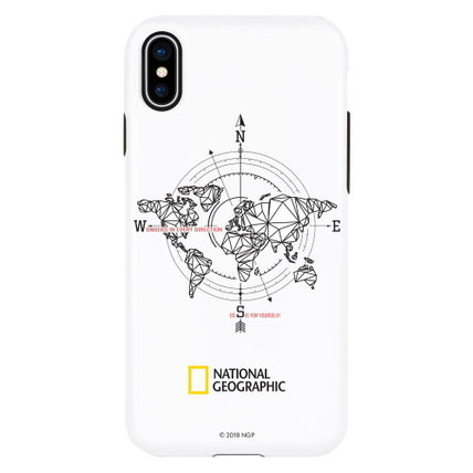 NATIONAL GEOGRAPHIC スマホケース・テックアクセサリー iPhone XS/X/XR/XS Max ケース Compass Case Double Protective(2)