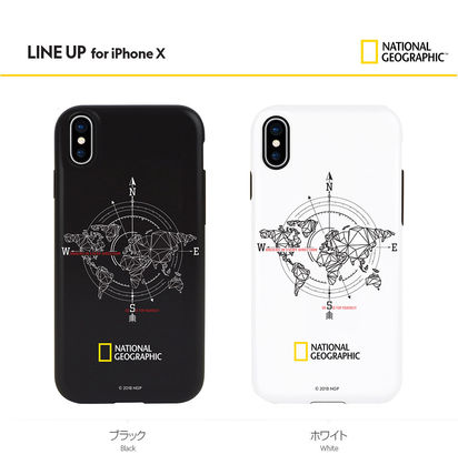 NATIONAL GEOGRAPHIC スマホケース・テックアクセサリー iPhone XS/X/XR/XS Max ケース Compass Case Double Protective(4)