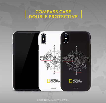 NATIONAL GEOGRAPHIC スマホケース・テックアクセサリー iPhone XS/X/XR/XS Max ケース Compass Case Double Protective(11)