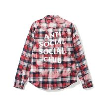 AntiSocialSocialClub PSY Red Flannel