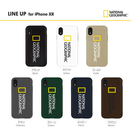 NATIONAL GEOGRAPHIC スマホケース・テックアクセサリー iPhone XS/X/XR ケース National Geographic Hard Shell 7色