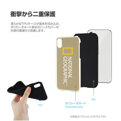 NATIONAL GEOGRAPHIC スマホケース・テックアクセサリー iPhone XS/X/XR ケース National Geographic Hard Shell 7色(9)