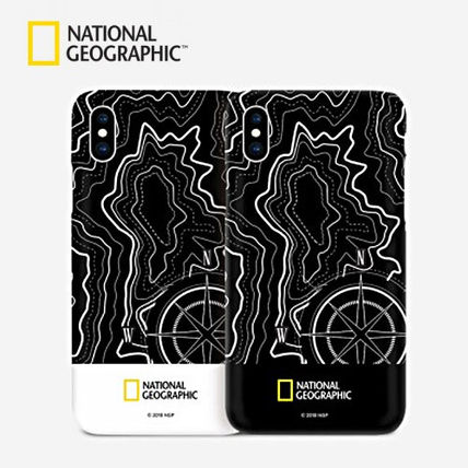 NATIONAL GEOGRAPHIC スマホケース・テックアクセサリー iPhone X ケース Topography Case Double Protective 2色